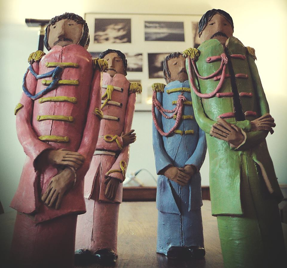 sculture beatles