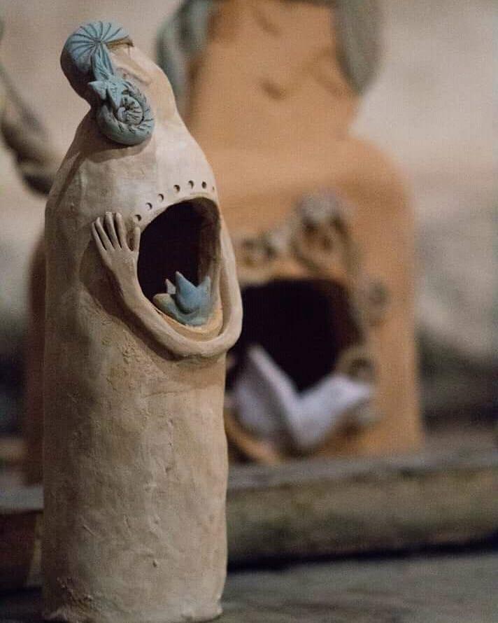 sculture in terracotta claudia di mario