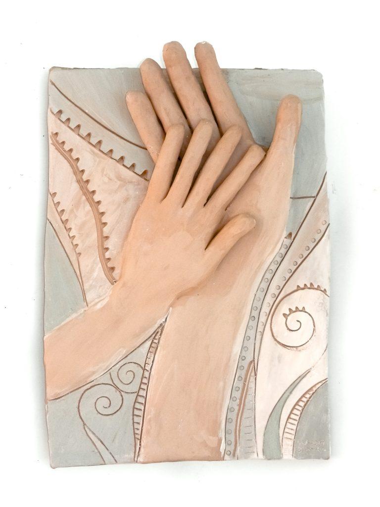 scultura mani
