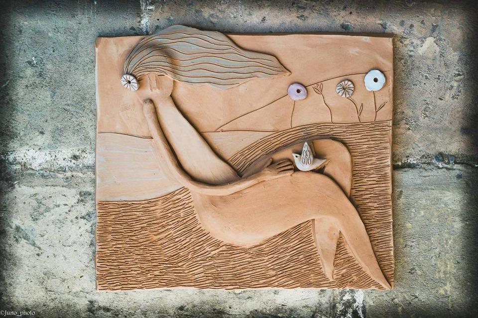 mattonella in terracotta claudia di mario