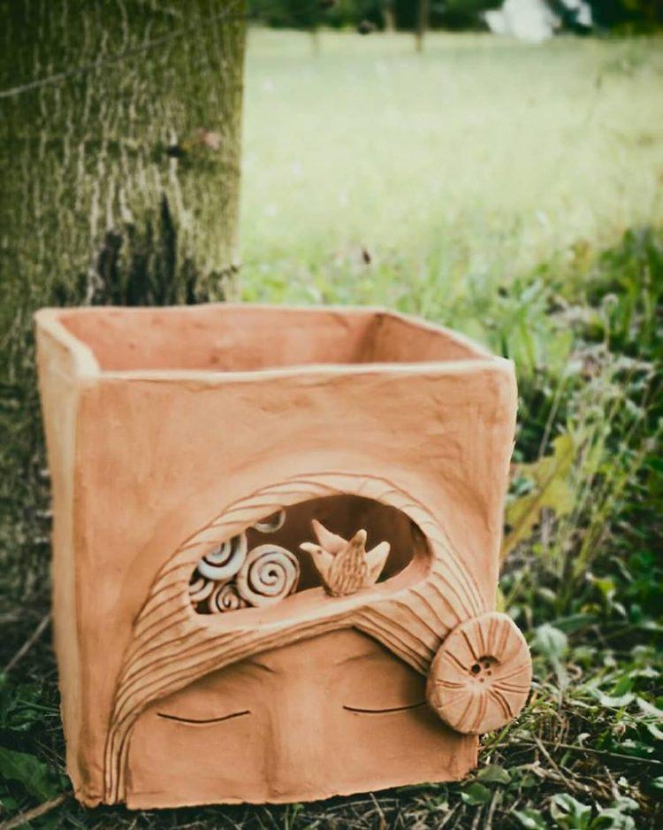 scultura ceramica artistica claudia di mario