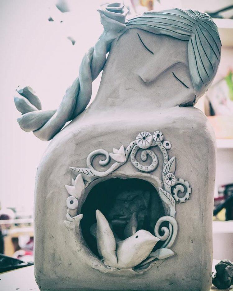 scultura claudia di mario