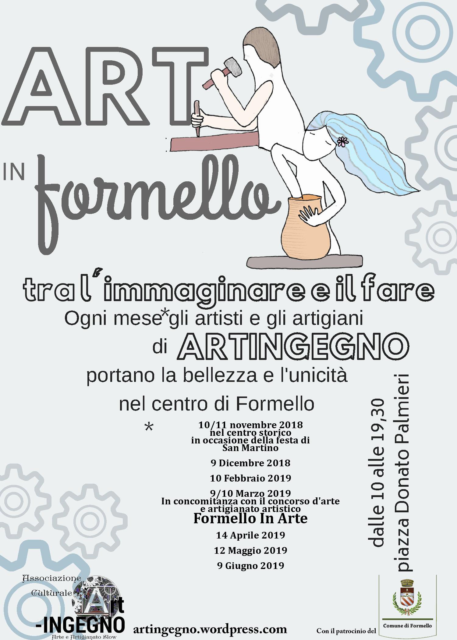 Art'inFormello mostra mercato d'arte e artigianato artistico