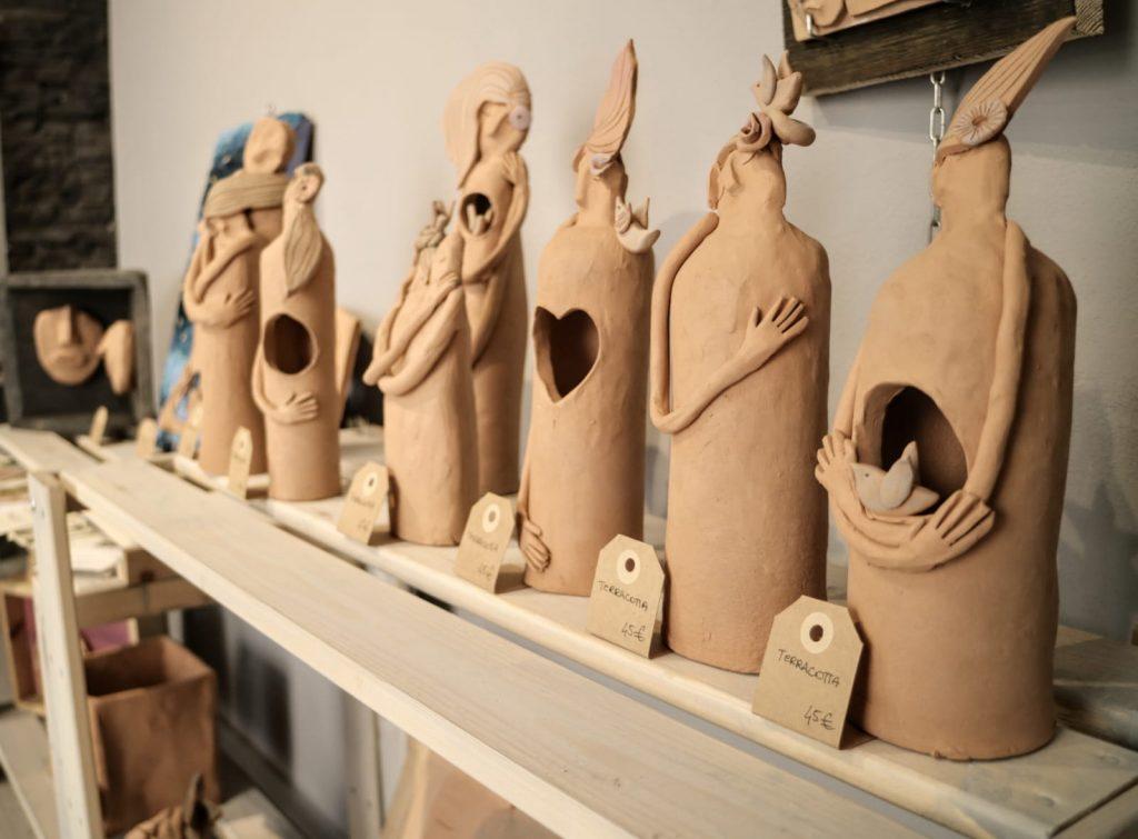 sculture claudia di mario castel gandolfo
